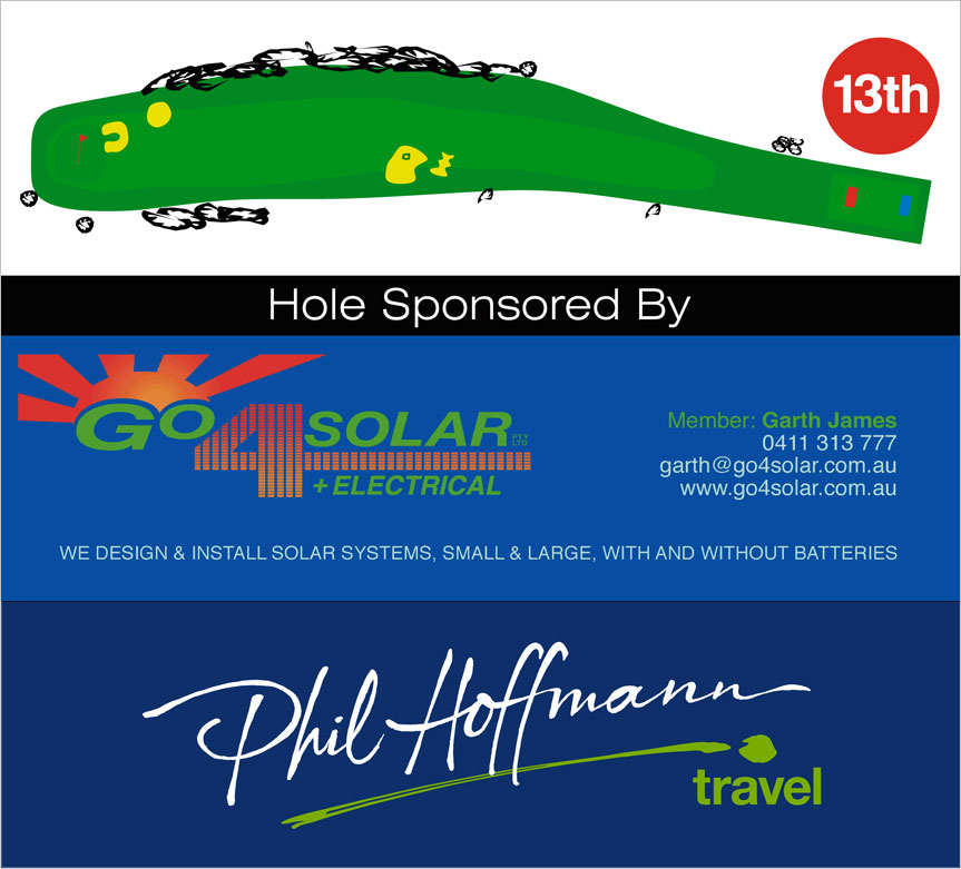 13th Hole Diagram