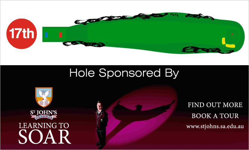 17th Hole Diagram