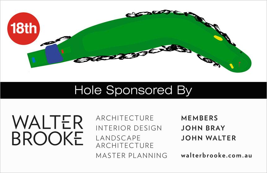 18th Hole Diagram